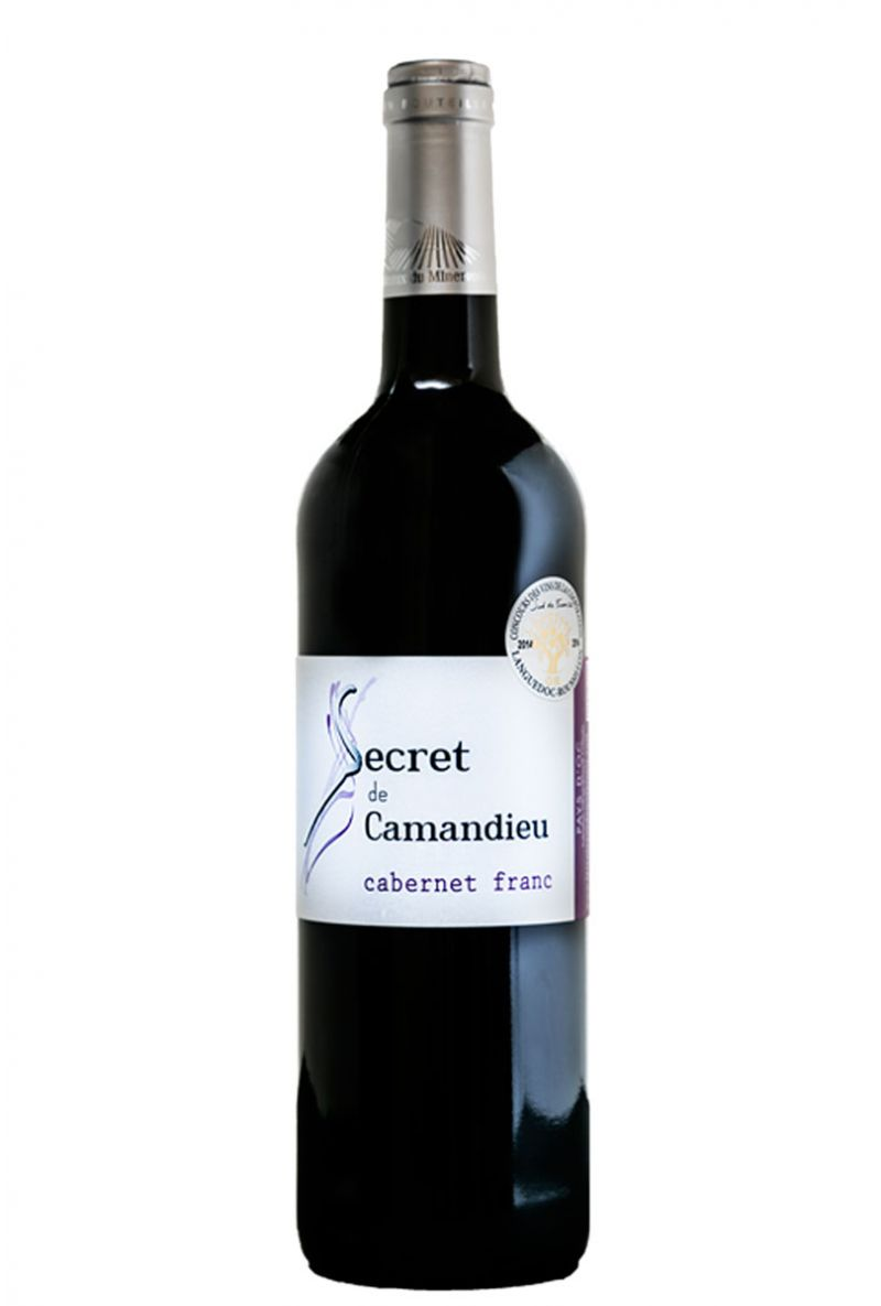 Secret de Camandieu Cabernet Franc - IGP OC
