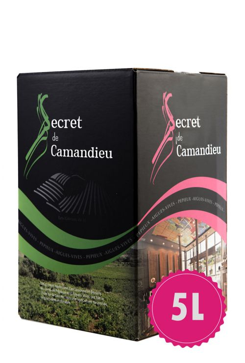 Bag in box Secret de Camandieu Rosé 5L