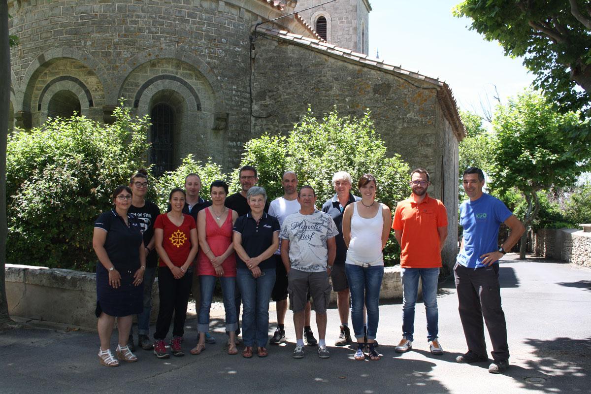 équipe Les Coteaux du Minervois