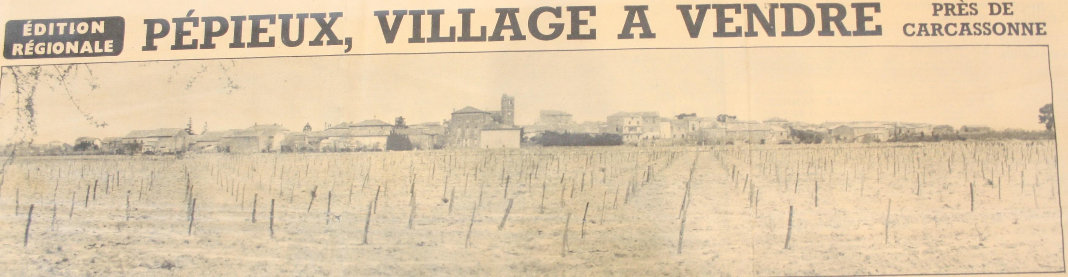 Pépieux village à vendre