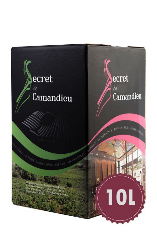 Bag-In-Box Secret Camandieu Rouge 10l