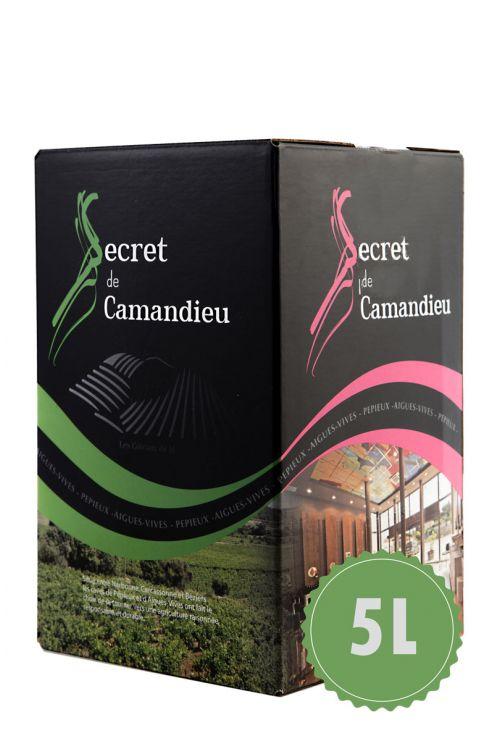 Bag in box Secret de Camandieu Blanc 5L